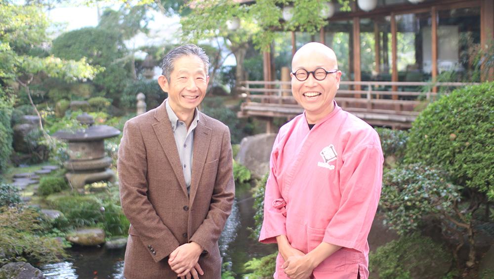 西田氏(左)と花田氏(右)
