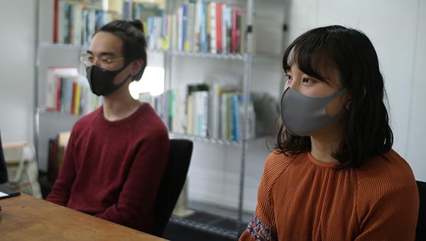 中村さん(右)と平末さん(左)