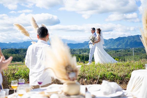 アンジュさん結婚式